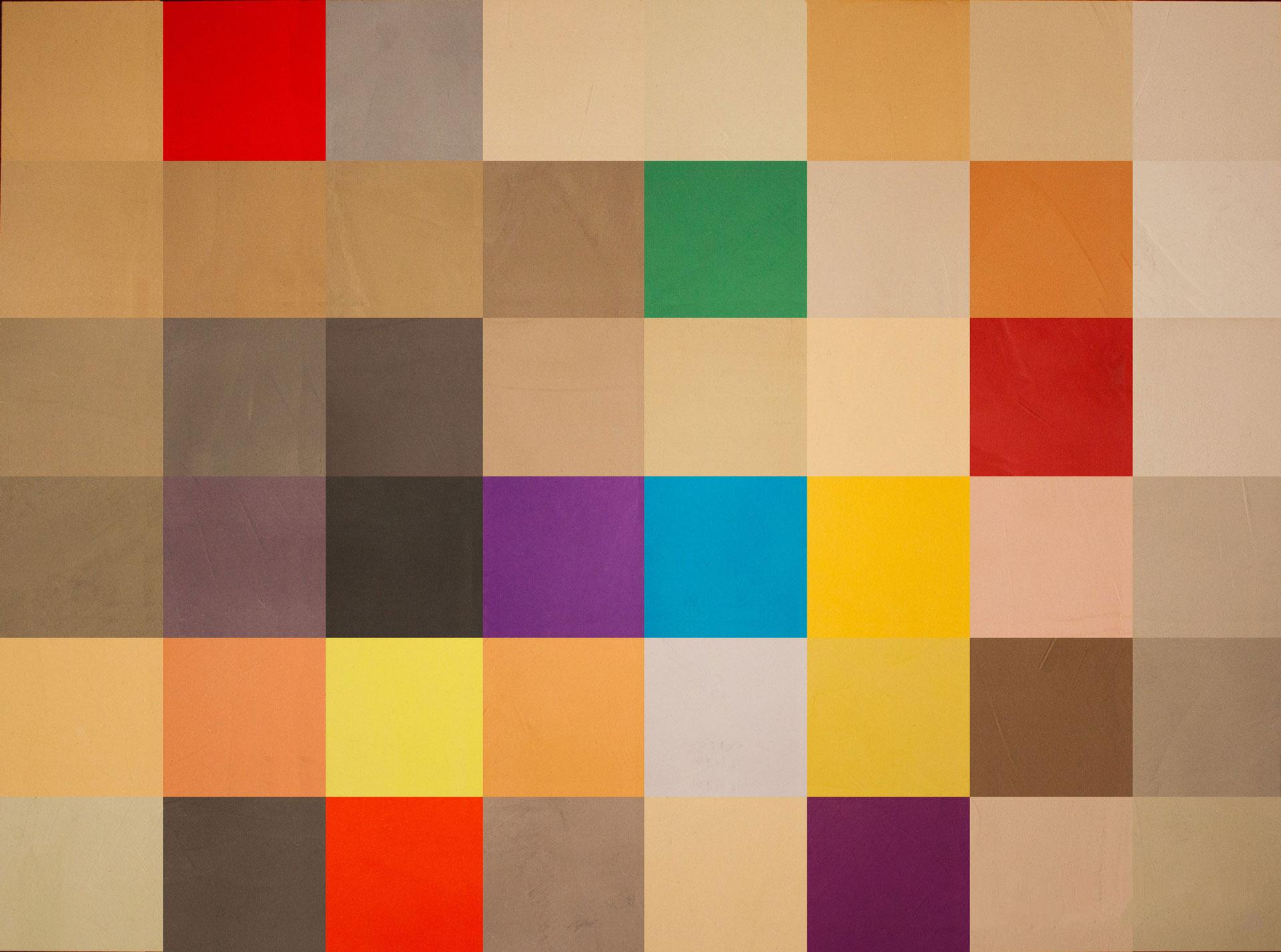 Tavolozza colori e sfumature del microcemento